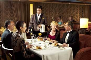 Dining on cruise ships