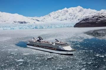 Millenium cruise liner in Alaska