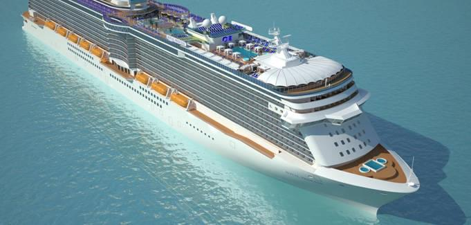 Regal Princess Cruise Ship