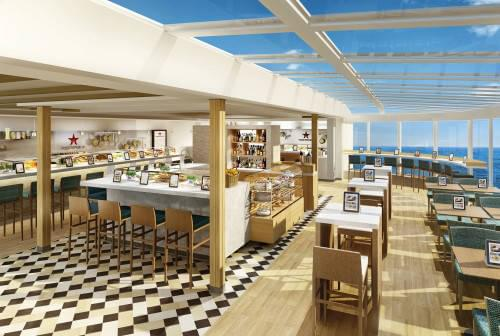 Food Republic aboard Norwegian Escape