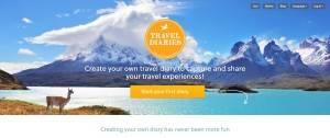 Travel Diaries App