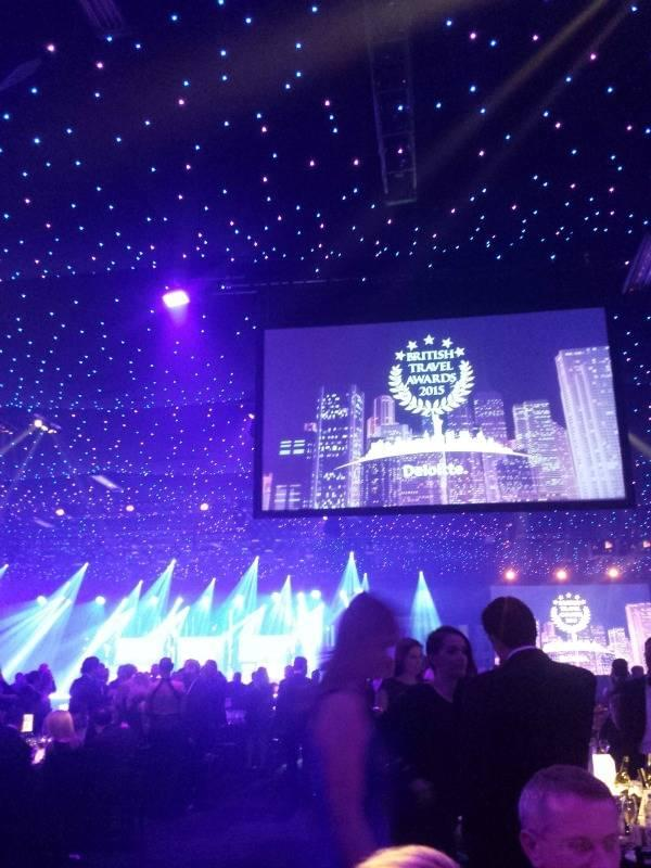 Cruise Nation at the British Travel Awards 2015