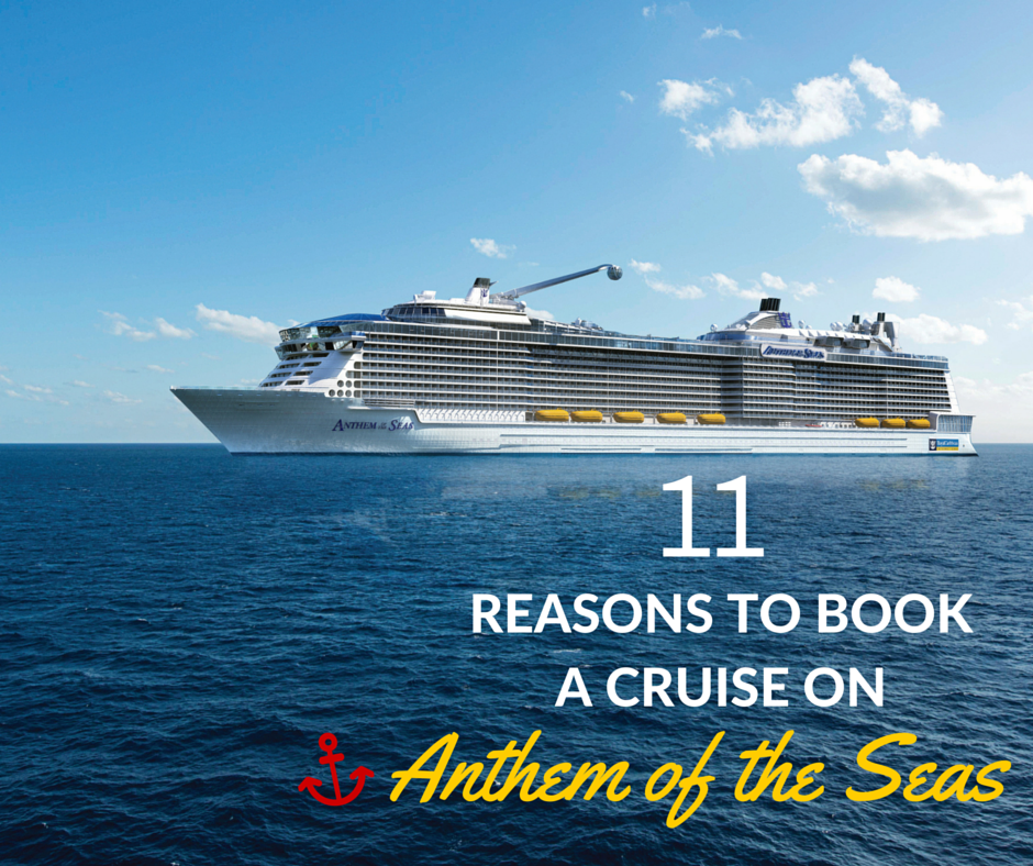 Booking a cruise on Anthem of the Seas