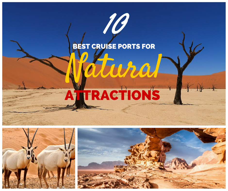 10 Best Cruise Ports for Natural Attractions