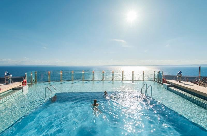 MSC Swimming Pool for relaxation