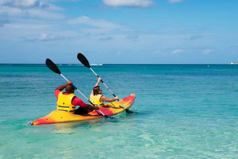 MSC Sea Kayaking excursion