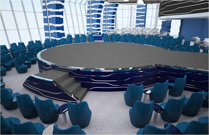 Aft Lounge on MSC Meraviglia