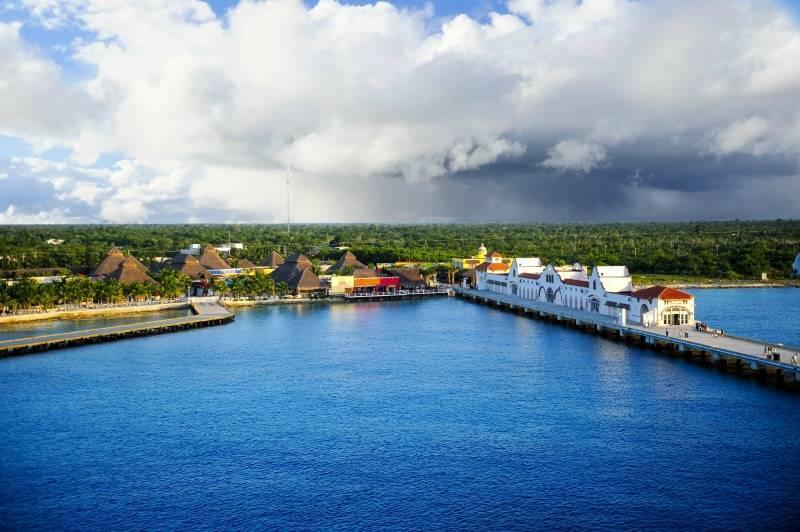 Cozumel cruise port, Mexico