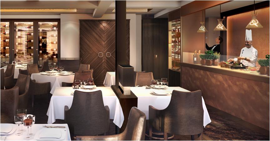 Steakhouse on MSC Meraviglia