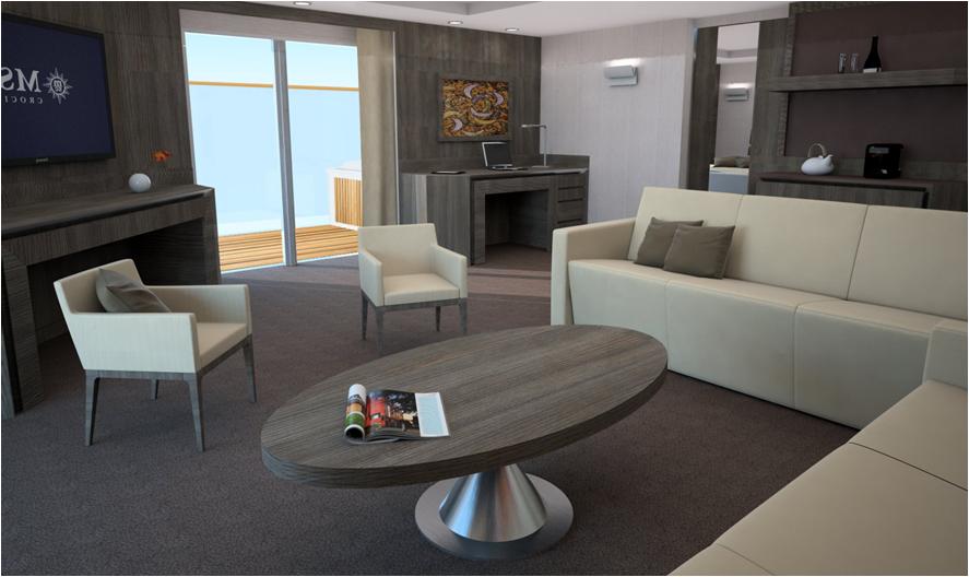 Yacht Club Suite on MSC Meraviglia