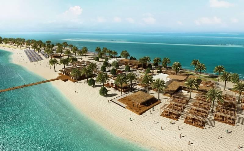 United Arab Emirates, Sir Bani Yas Island Beach Resort - Main buffet