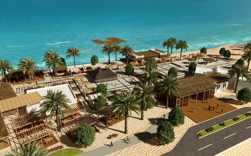 United Arab Emirates, Sir Bani Yas Island Beach Resort - Welcome Centre