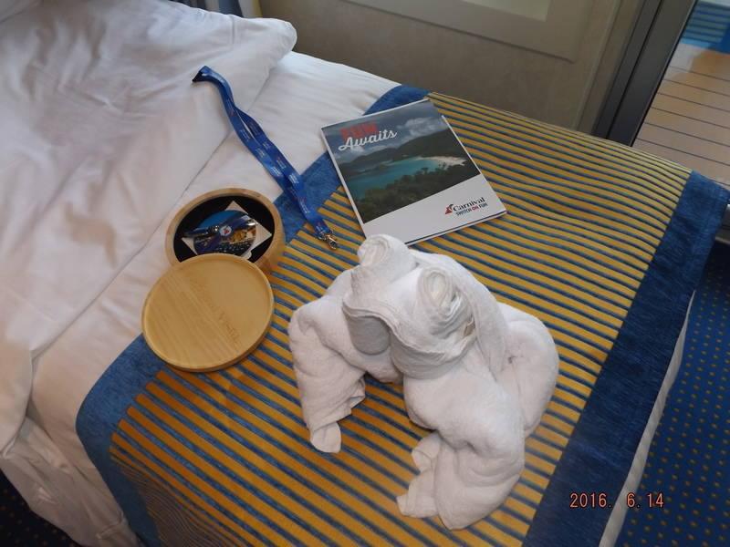 Carnival cruise line frog towel animal