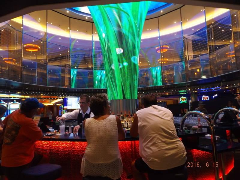 Atrium Bar on the Carnival Vista