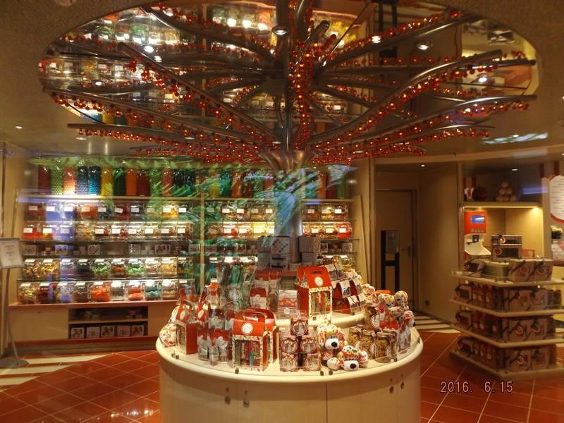 Carnival Vista Cherry on Top Candy Shop