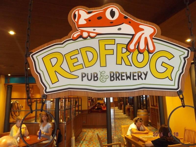 Carnival Vista RedFrog Pub