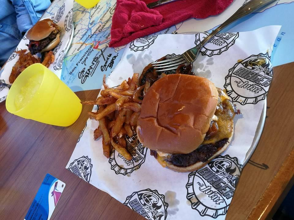 Guy's Burger from the Carnival Vista