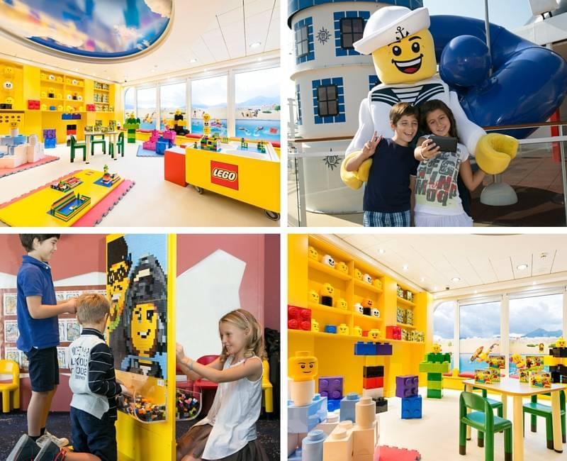 Lego onboard MSC