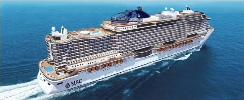 The new MSC Seaside