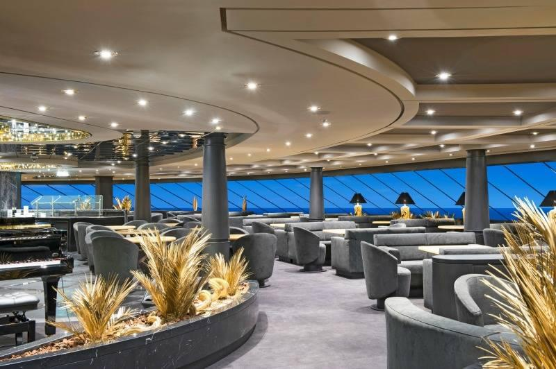 MSC Preziosa Yacht Club Top Sail Lounge
