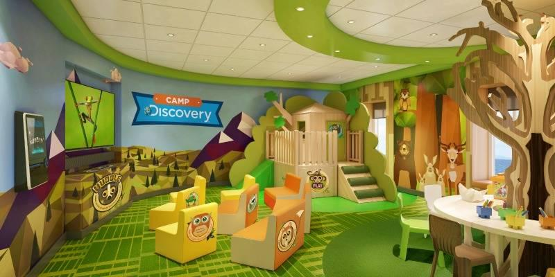 Princess Cruise Line Camp Discovery Treehouse