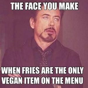 Fries vegan
