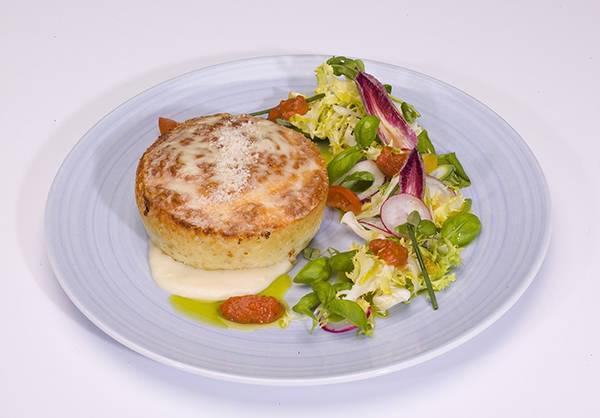 Soufflé au Fromage (Holland America) 4