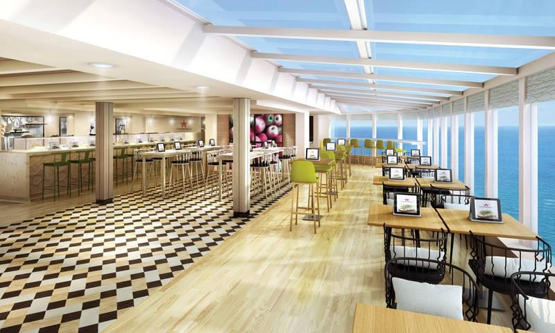 Food Republic on the Norwegian Bliss