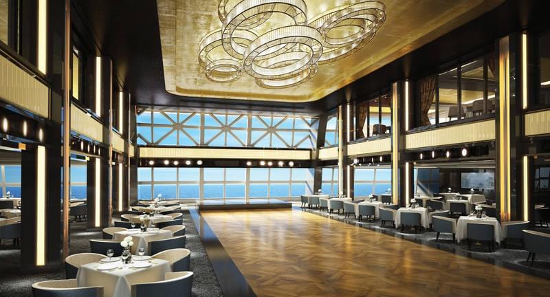 The Manhattan Room on the Norwegian Bliss
