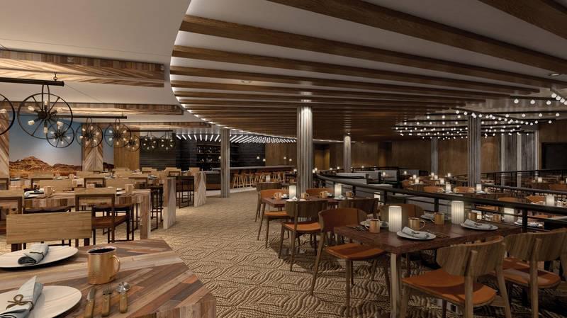 Q Restaurant on the Norwegian Bliss
