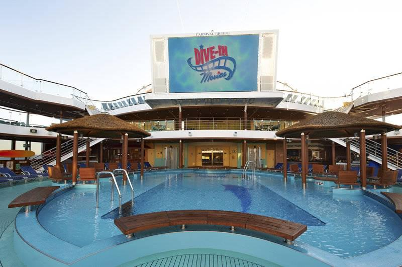 Dive in Movies on Carnival Cruise