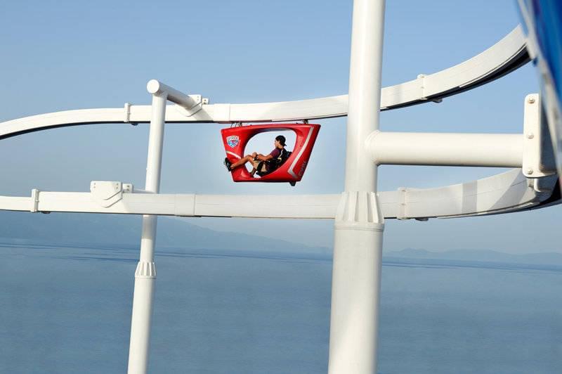 Carnival cruise line SkyRide