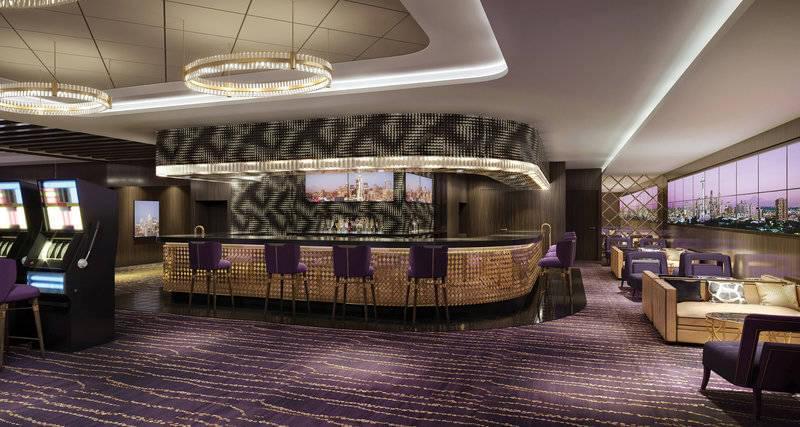 The Skyline Casino Bar on the Norwegian Bliss