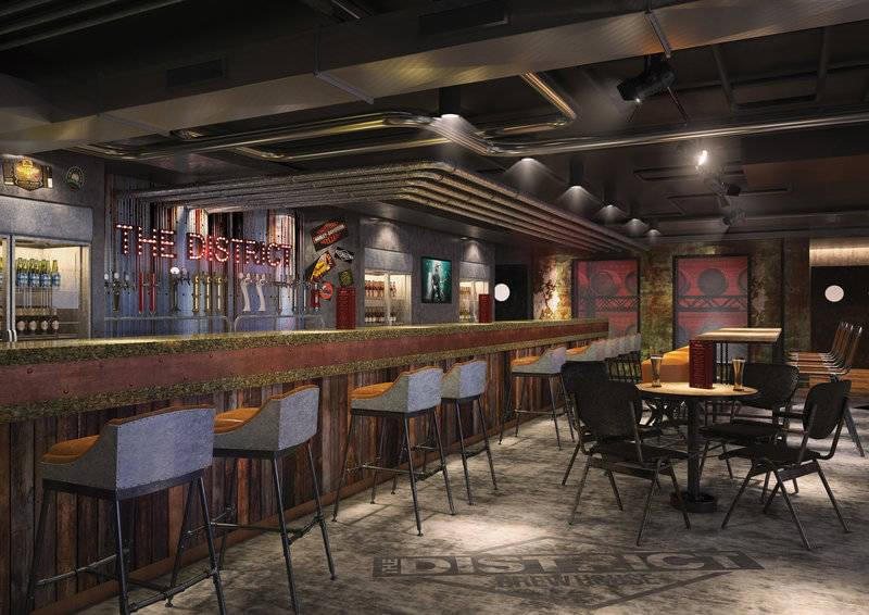 District Brewhouse on the Norwegian Bliss