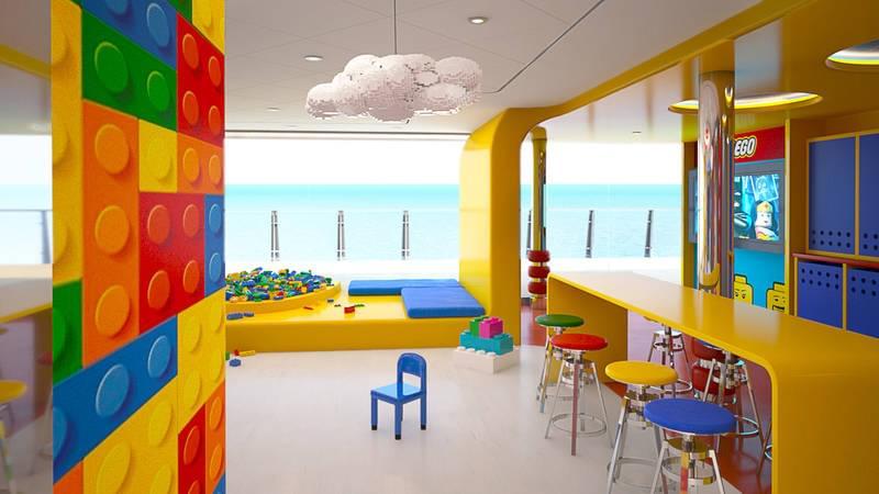 LEGO on MSC Meraviglia