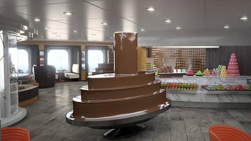Chocolaterie on MSC Meraviglia
