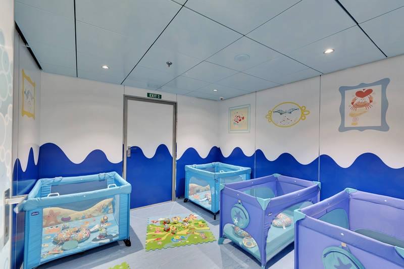 MSC Baby Club Nap Area