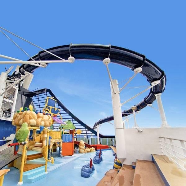 Vertigo Slide on MSC Preziosa