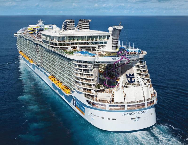 Cruising on the Harmony of the Seas