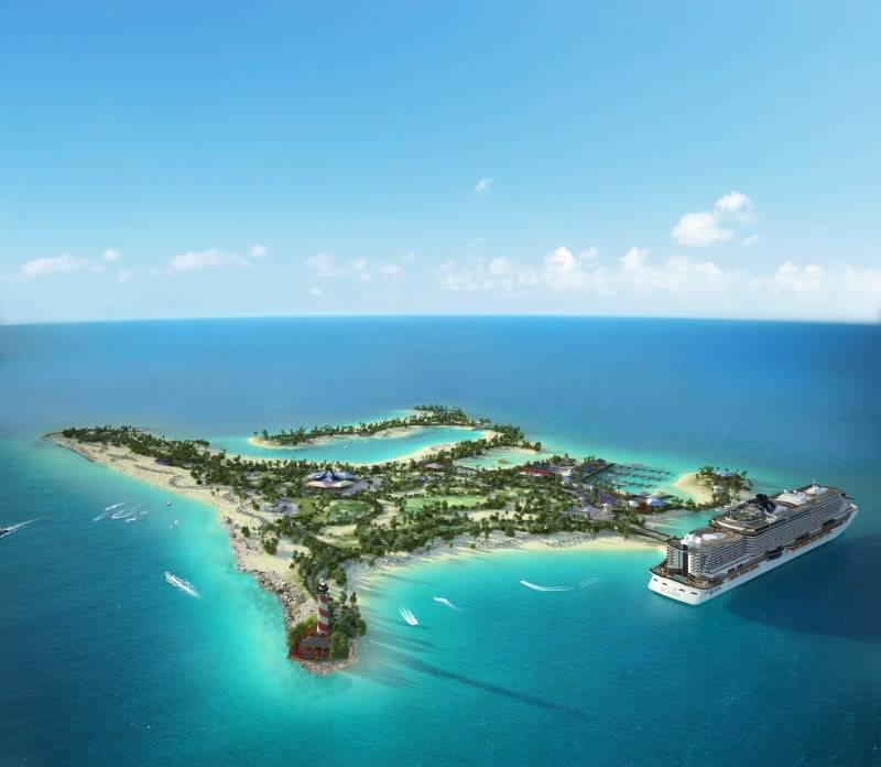 MSC Cruise Line Ocean Cay Port